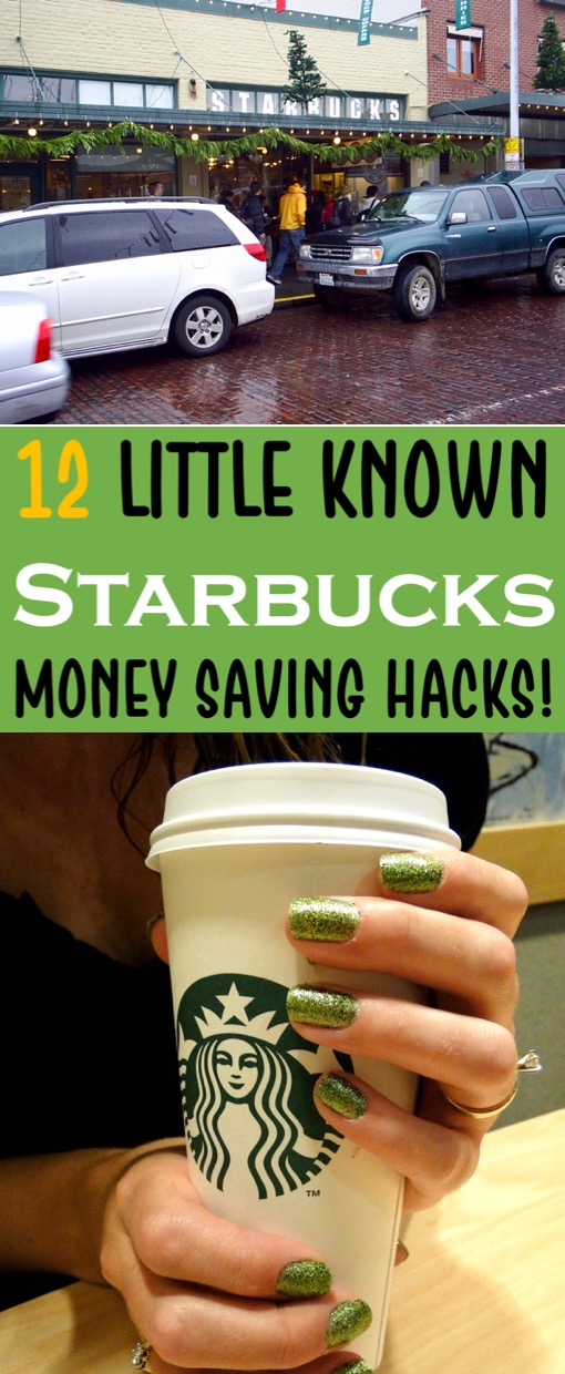 Starbucks Drinks - Easy Money Saving Hacks and Little Known Tips to Help You Save BIG on your Coffee at Starbucks