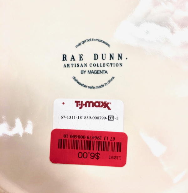 TJ Maxx Rae Dunn Pottery