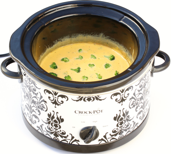 Crockpot Broccoli Cheese Dip Recipe