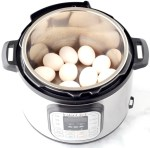 Pressure Cooker Hard Boiled Eggs Without Steamer Basket