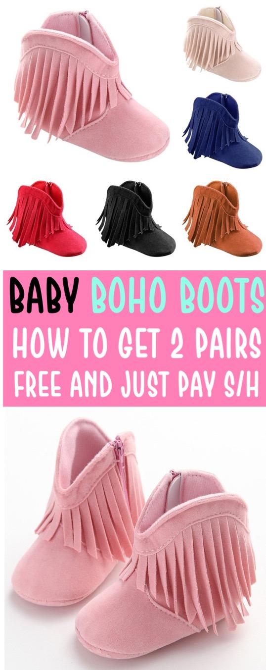 Baby Girl Clothes Boho Boots