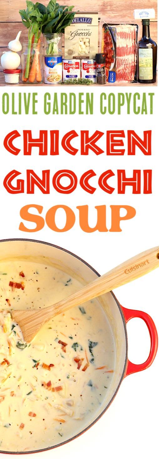 Chicken Gnocchi Soup Recipe Olive Garden Copycat The Frugal Girls