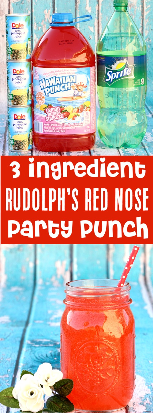Party Punch Recipes Kids Christmas Drink