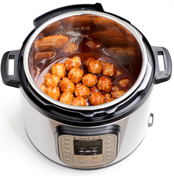 Cooking Meatballs in Instant Pot