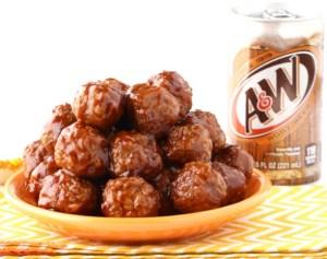 Instant Pot BBQ Meatballs Recipe! {Root Beer}