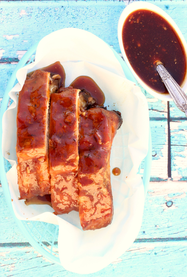 Crockpot Honey Garlic Ribs Recipe