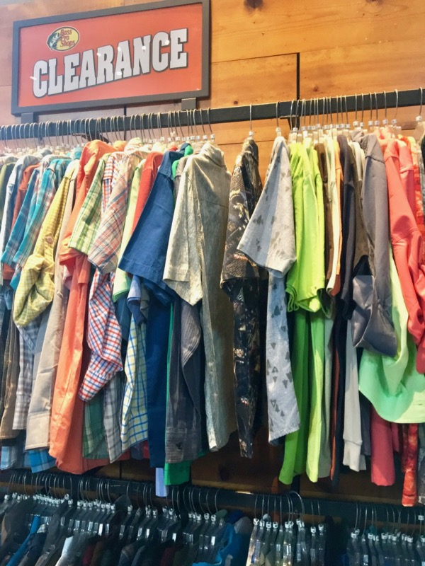 Bass Pro Clothing Clearance