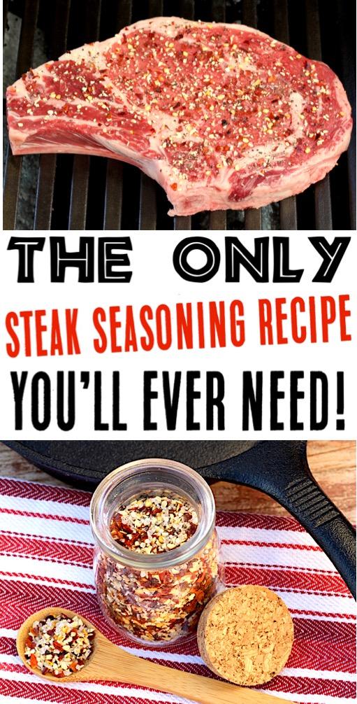 Steak Recipes in Oven, Grilled, or Pan Seared - Easy Steak Seasoning Recipe