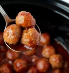Dr Pepper Meatballs with Frozen Meatballs