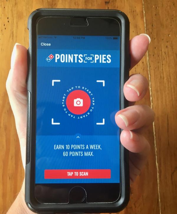 Dominos Free Pizza App