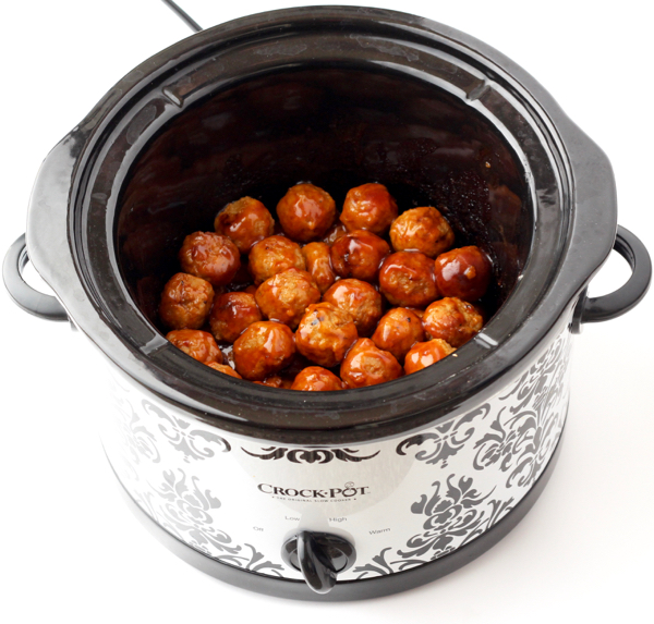 Crockpot Honey Garlic Meatballs Recipe Crazy Easy The Frugal Girls