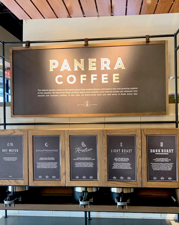 Panera Coffee Refills