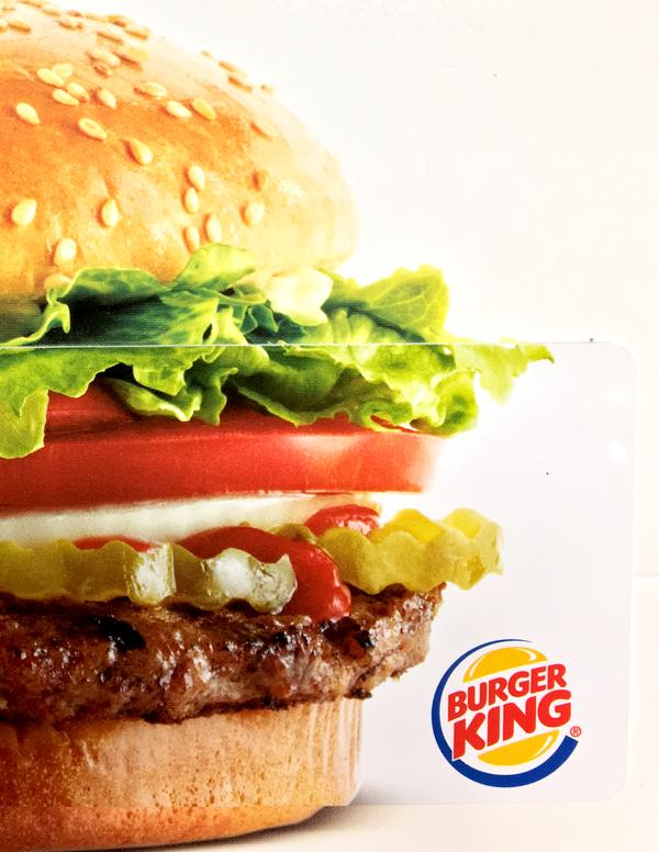 Burger King Gift Card Deals