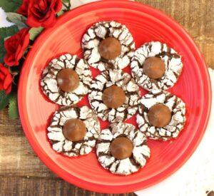 Chocolate Kiss Thumbprint Cookies Recipe Easy