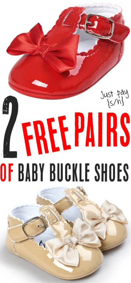 Baby Outfits Free Buckle Shoes for Girls