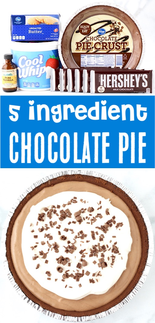 Chocolate Pie Recipe Easy Old Fashioned Pies