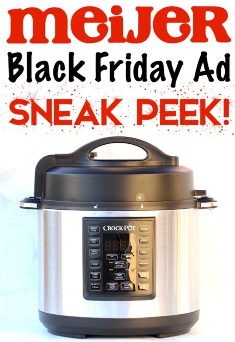 Meijer Black Friday Ad