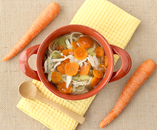 Crockpot Chicken Noodle Soup from Scratch