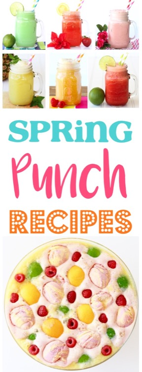 Easy Spring Punch Recipes