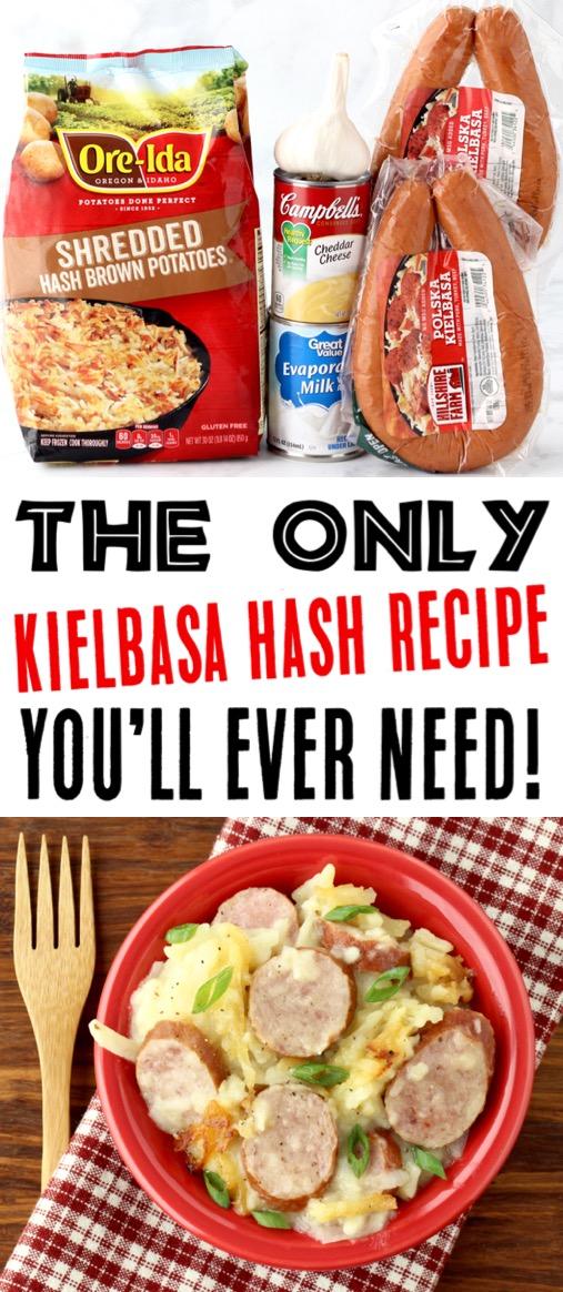 Kielbasa Recipes Crockpot Hash Easy Dinner