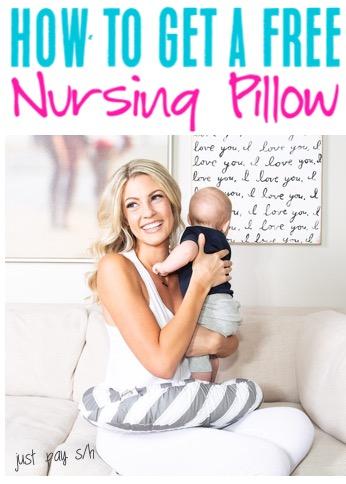 New Mom Tips Free Nursing Pillow Pick Your Favorite Pattern
