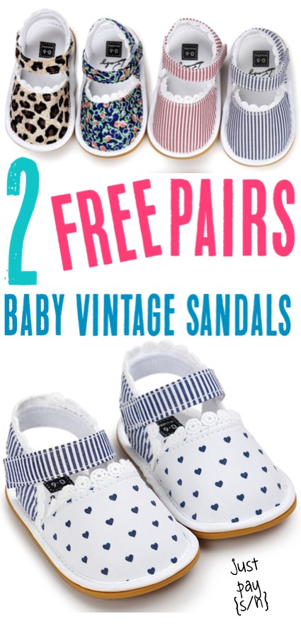 Baby Fashion Girl Summer Sandals for Newborn, Infant, or Toddler
