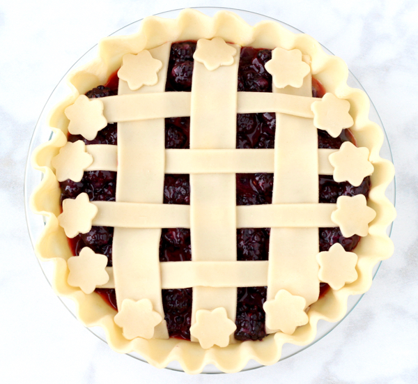 Easy Blackberry Pie Recipe