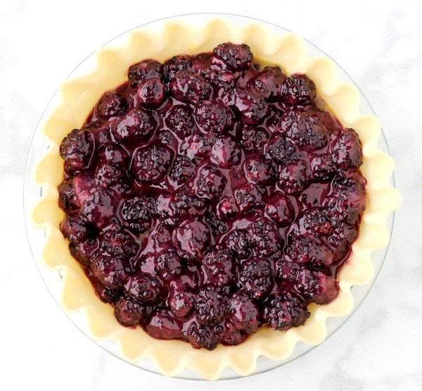 Homemade Blackberry Pie Recipe