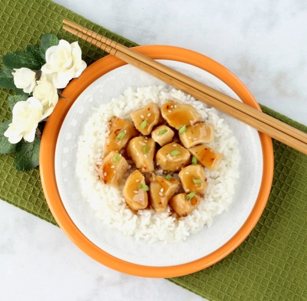 Instant Pot Orange Chicken Recipe