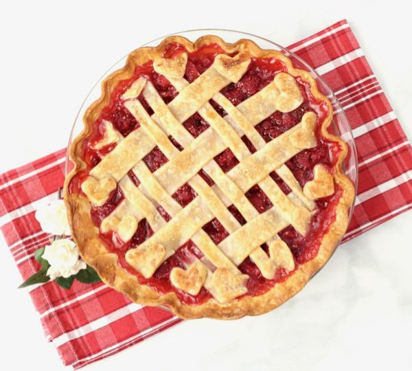Fresh Raspberry Pie Recipe Easy