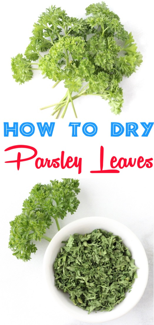 How to Dry Parsley Leaves in Microwave