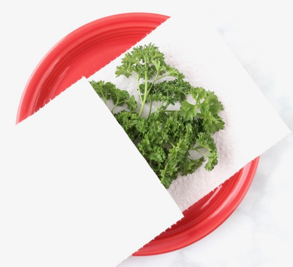 How to Dry Parsley in Microwave