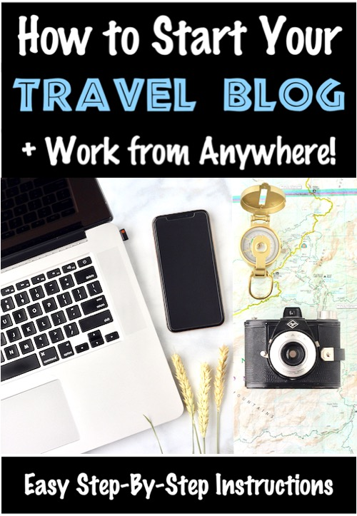 Start a Blog for Beginners to Make Money - How to Start a Travel Blog Checklist