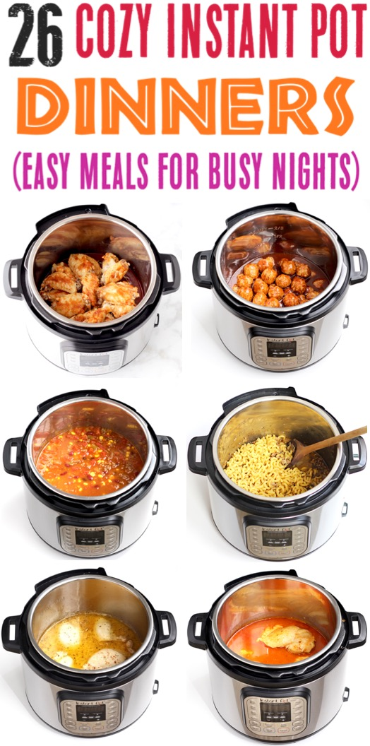 Instant Pot Recipes Easy Beef and Chicken Dinners for Families