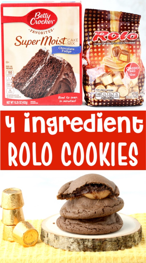 Fall Cookies Recipes Easy Rolo Cookie Recipe