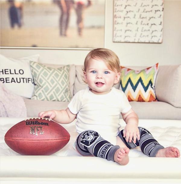 Football Baby Leggings