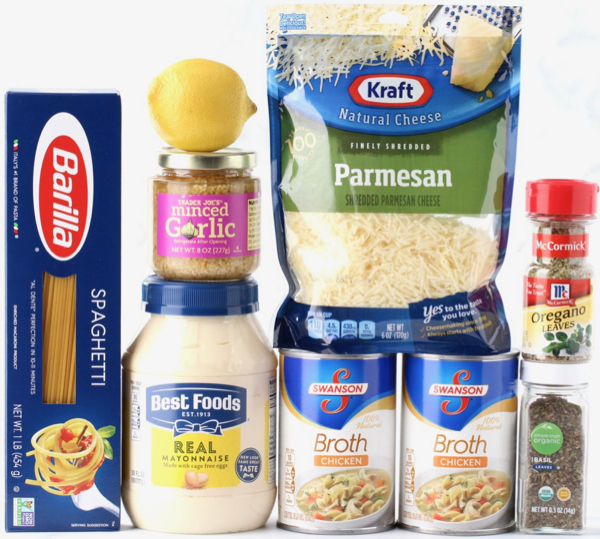 Garlic Parmesan Spaghetti Recipe