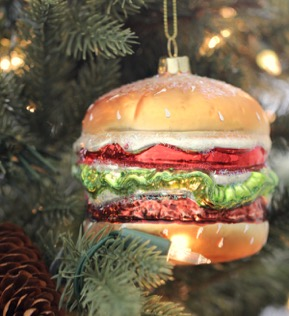 Hamburger Ornaments