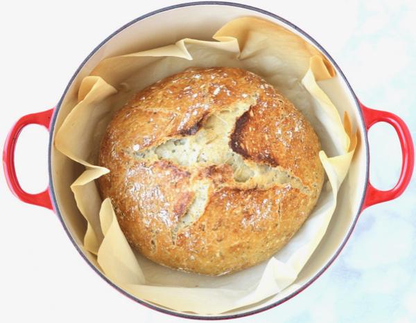 Dutch Oven Bread Recipe Tasty