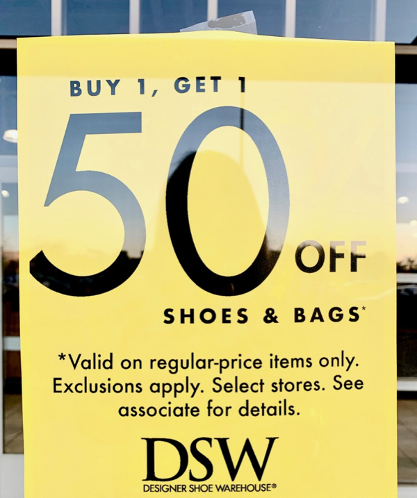 DSW Sale Today