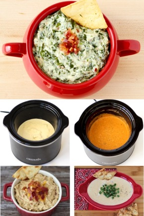 Easy Crockpot Dips {Party Recipes}