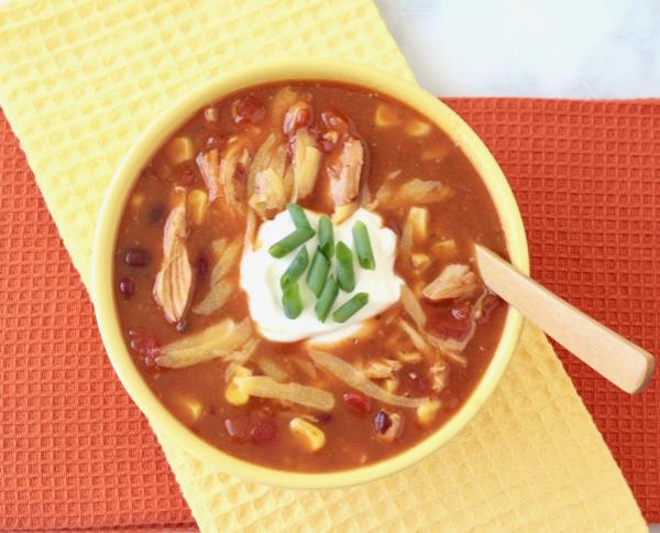 Instant Pot Tortilla Soup Easy