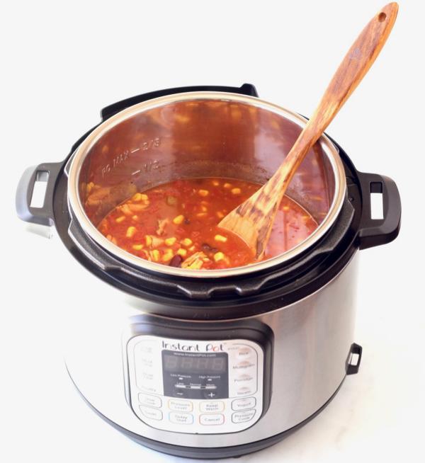 Instant Pot Tortilla Soup Recipe Easy