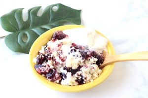 Blackberry Cream Cheese Cobbler Recipe Easy