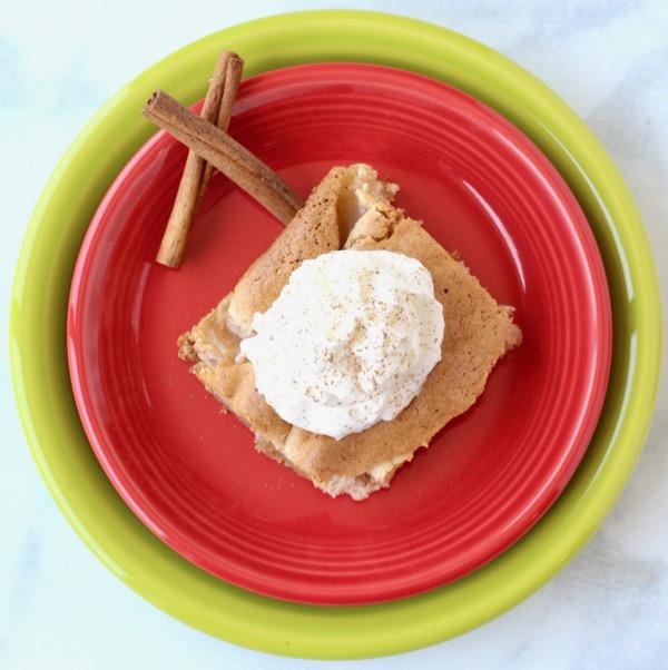 Apple Angel Food Cake Recipe with Cinnamon