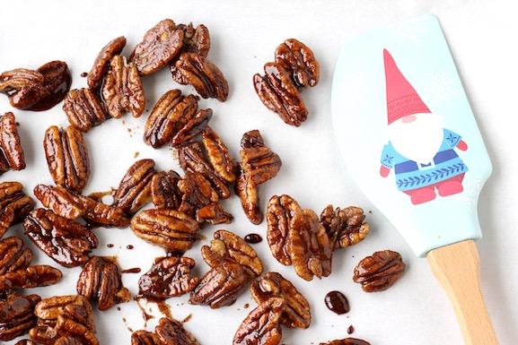 Cinnamon Brown Sugar Pecans Recipe Easy