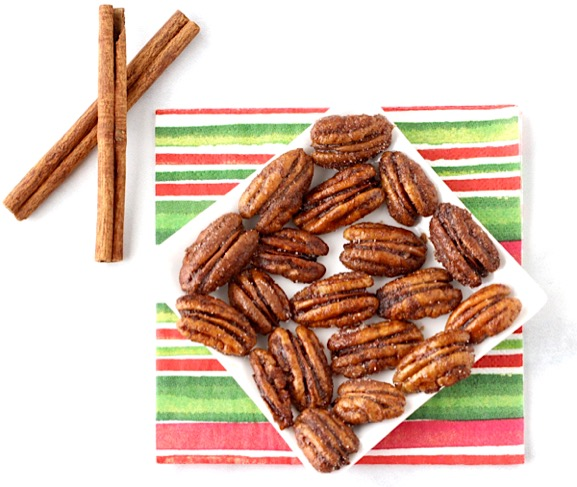 Cinnamon Sugar Glazed Pecans Recipe Easy