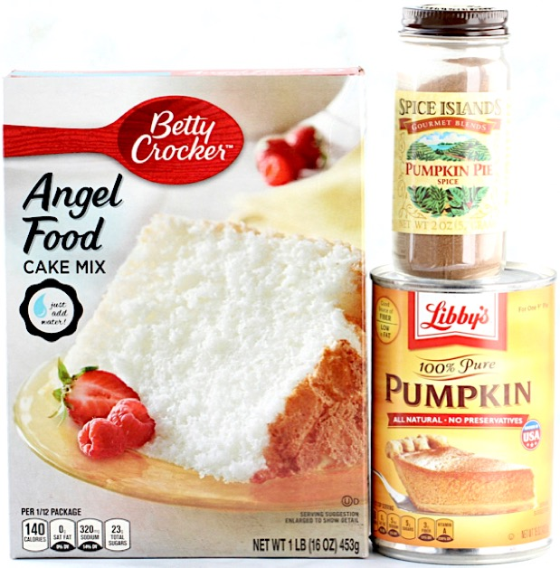 Pumpkin Angel Food Cake Easy
