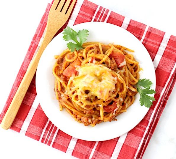 Taco Spaghetti Recipe Easy