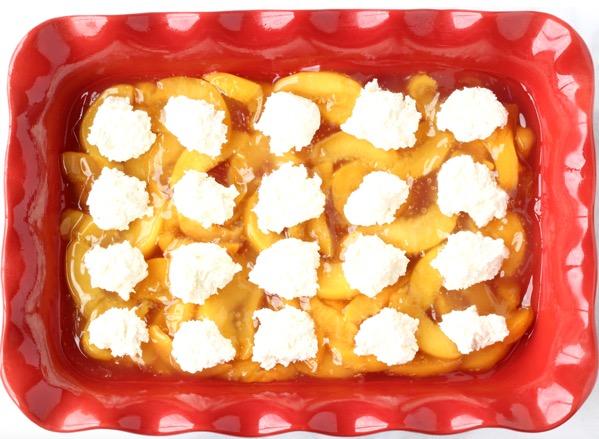 Peach Cheesecake Cobbler Recipe